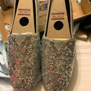 Silver Sequin Bobs by Sketcher